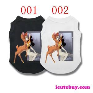 ジバンシー 犬ウェア Givenchy ドッグウェア プリント 鹿柄 可愛い お散歩 春夏用