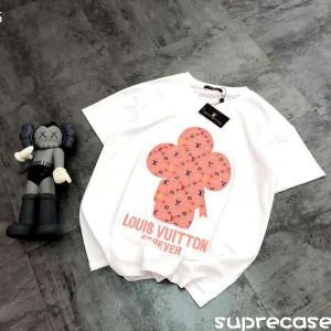 ルイヴィトン ヴィヴィエンヌ Tシャツ 刺繍ロゴ 可愛い ヴィトン 半袖 ティーシャツ 送料無料 http://s ...
