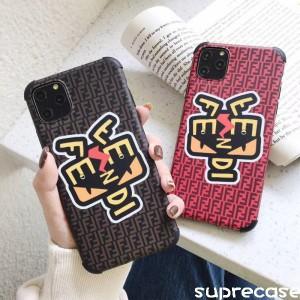 Fendi iphone11/11proケース ブランド ペア フェンディ iphone11pro max保護カバー 男女兼用 http://su ...