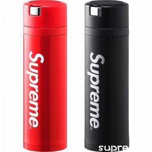 シュプリーム x 象印 水筒 ブラント Supreme ステンレス 水筒 直飲み 軽量 保冷 保温 http://suprecase ...
