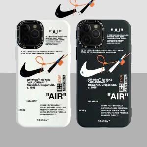 ナイキ アイフォン11/11Pro携帯カバー 人気 オフホワイト nike コラボ アイフォン11Pro Maxケース ペア ...