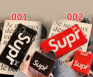 手帳型Superme AirPods pro ケース 個性 iphone12/11/11 pro/11 pro max/se2 ブランド 韓国 シュプリー ...