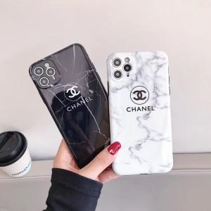 ブランド シャネル iPhone 12/12Proケース レディス 大理石柄 CHANEL アイフォン12max/12Pro Maxカバー ...