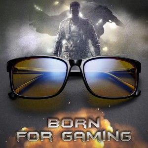 Gaming Glasses – Blue Light Glasses For Computer/Phone – Black – EyeWearShop