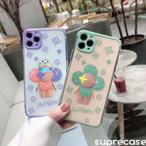 ルイヴィトン ヴィヴィエンヌ iPhone12/12pro/11proケース 透明ケース ブランド iphone 11/11pro maxカ ...