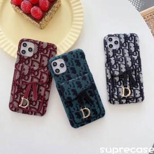 レディース向け ディオール iPhone 12/12 Proケース Dior iPhone12pro maxカバー カードポケット付き h ...