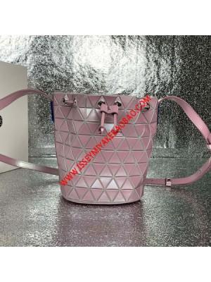 Issey Miyake Solid Lander Small Bucket Bag Pink Outlet Bao Bao Issey Miyake Cheap Sale Store