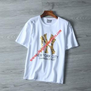 MLB NY Big Logo Short Sleeve T-shirt New York Yankees White Outlet New York Yankees Cheap Sale Store