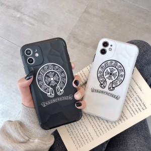 chrome hearts iphone 12ケース ブランド 人気 クロムハーツ アイフォン12Pro/12Pro Maxカバー ペアケ ...