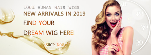 YNEED Human Hair Wigs, Synthetic Wigs, Comfortable Lace Wigs, African American Wigs, Celebrity W ...