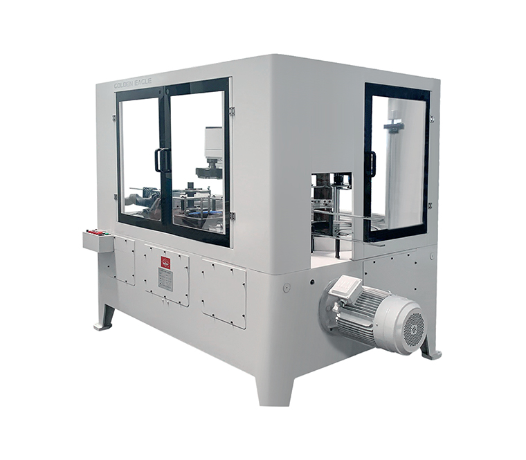 This machine adopts vertical can feeding, suitable for aerosol canflanging, seaming , top seamin ...