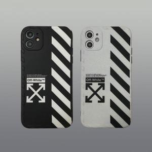 オフホワイト iPhone12/12 Maxケース ペア OFF-WHITE iPhone12 Pro/12 Pro Maxケース カップル向け htt ...