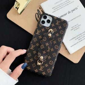 ブランド ルイヴィトン iphone 12/12Pro maxケース 高級感 バンド付き LV アイフォン 12Max/12Proカバ ...