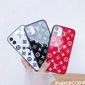 ブラント アイフォン12/12 Maxケース ルイヴィトン iPhone12pro/12pro maxケース ガラス表面 モノグラ ...
