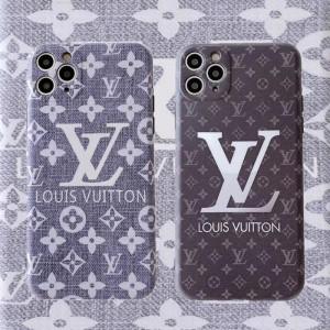 ルイヴィトン アイフォン12/12プロケース デニム風 iPhone12pro maxカバー モノグラム LV iphone11/11p ...