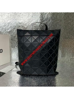 Issey Miyake Lucent Flat Pack Large Backpack Matte Black Outlet Bao Bao Issey Miyake Cheap Sale  ...