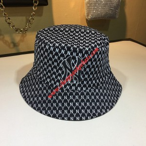MLB NY Monogram Double-sided Bucket Hat New York Yankees Hat Black Outlet New York Yankees Cheap ...
