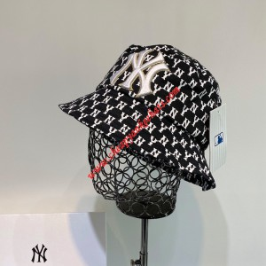 MLB NY Monogram Logo Bucket Hat New York Yankees Hat Black Outlet New York Yankees Cheap Sale Store