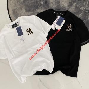 MLB NY Monogram Logo Short Sleeve T-shirt New York Yankees