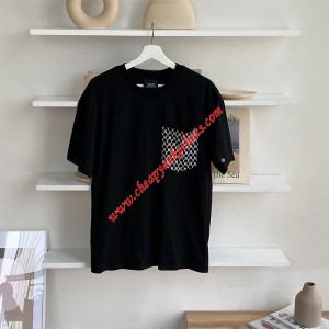 MLB NY Monogram Pocket Short Sleeve T-shirt New York Yankees Black