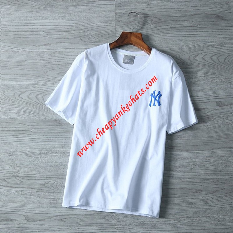 MLB NY Popcorn 21 Short Sleeve T-shirt New York Yankees White Outlet New York Yankees Cheap Sale ...