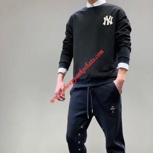 MLB NY Popcorn 21 Sweatshirt New York Yankees Black Outlet New York Yankees Cheap Sale Store