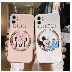 グッチとディズニーコラボiPhone12/12 pro maxケース 絶大な人気を誇る Gucci/グッチハイブランドIphon ...