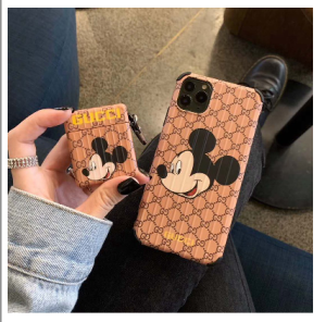 gucci&Disneyコラボしたiphone12/12 pro/12 maxスマホケース新品入荷しました!人気キャラクターミ ...