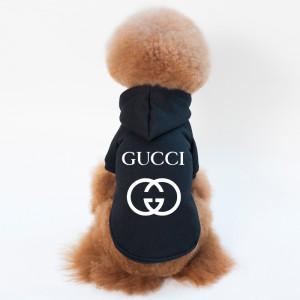 Gucci プリントロゴ ドッグウェア フード付き 小中型犬 オシャレ グッチ パーカー 犬用 http://betskoz ...
