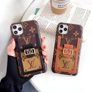 ブラント iphone12proケース ルイヴィトン アイフォン12/12ミニケース カードポケット付き iphone12pro ...