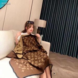 ルイヴィトン ブランケット オシャレ LV 毛布 モノグラム柄 北欧風 多用途 エアコン毛布 http://cocomo ...