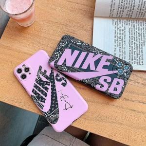Nike/ナイキiphone11/11pro maxケース ビジネス ストラップ付きアイフォンiphone x/8/7 plus/se2ケース ...