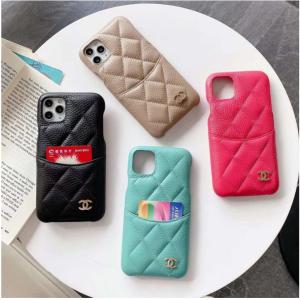 ブランドシャネル iphone12/12 pro maxカバーバンド付き chanel iphone 12/11/X/8/7ケース レザー キ ...