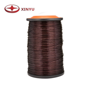 0.50-0.80mm 130C Polyester Aluminum Magnet Wire For Choke Coil Winding-Xinyu Electrical Material ...