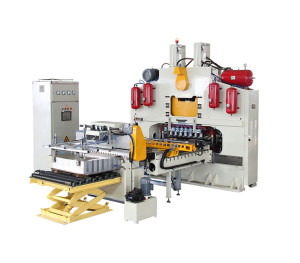 This press realizes the sheet pressing, the whole procedure is automatic. It has high efficiency ...