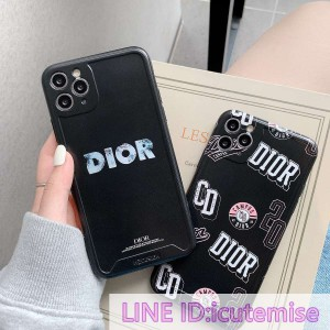 Dior iPhone 12 Pro/iPhone 12 Pro Max ケース 新品 iPhone11 pro max ケース シンプル ディオール iPh ...