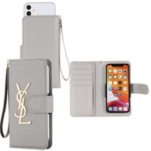 【汎用型6.7インチ以下全機種対応】YSL/イブサンローラン女性向け Iphone 12/12 Pro/12 Pro MaxケースI ...