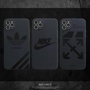 NIKE iPhone 12Pro/12miniケース ブランド シリコン アディダス アイフォン12Pro Max/12携帯カバー ナ ...