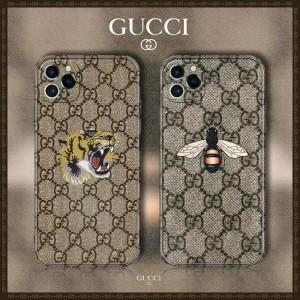 GUCCI iPhone12pro/12ケース タイガー ハチミツ付き アイフォン12プロマックスケース グッチ iPhone11/ ...