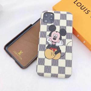 iPhone12Pro/12Miniケース LV コラボ ディズニー lv携帯ケース iphone12 12pro max 全機種対応 ミッキ ...