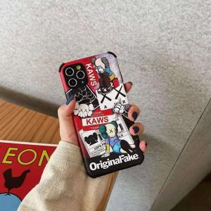 Kaws iPhone12ケース アニメ風 supreme iphone12 pro max ケース かわいい kawsスマホカバー iphone12  ...