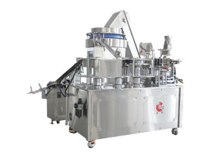 This machine is used for printing syringe barrel. It has the characteristics of high working eff ...
