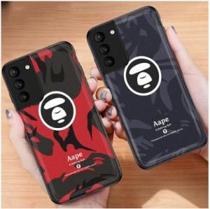 Aape ブランドiphone12 pro max Galaxy S21ケースエイプ 人気  Bape ア ベイシング エイプ A BATHING  ...