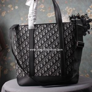Dior Oblique Tote Black
