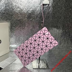 Bao Bao Issey Miyake Prism Wristlet Pouch Pink