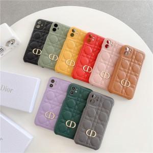 革製 iphone12/12pro/12pro maxスマホケース ディオール 高級感 ブランドコピー レディース向け