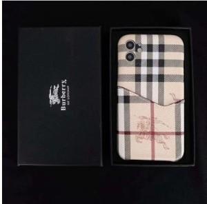 アップルウォッチ バンド 革ブランド iphone12s mini/13ケース バーバリー  バーバリーブランド 手帳 ...