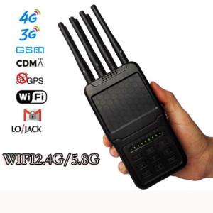Le meilleur brouilleur portable à 8 voies désactivera toutes les fréquences du combiné dans tous ...