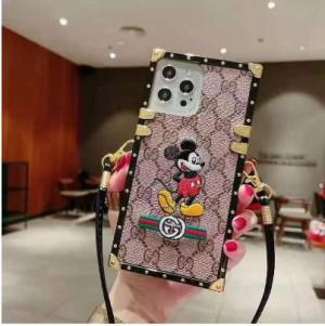 グッチiphone13pro maxトランクケース刺繍iphone13ケースアディダス 今、スマホケースはファッショ ...