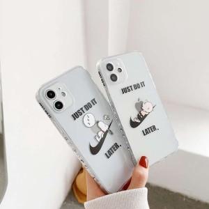ナイキiPhone 13 pro携帯ケース2色 アイホン12promax クリア Nike ケース アイホン12 mini/12可愛い風 ...